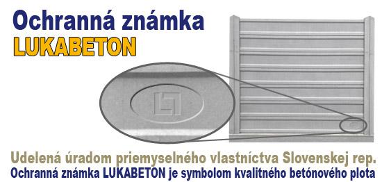 ochranná známka LUKABETON