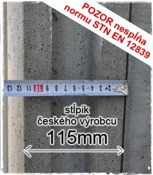 Stĺpik Českého výrobcu