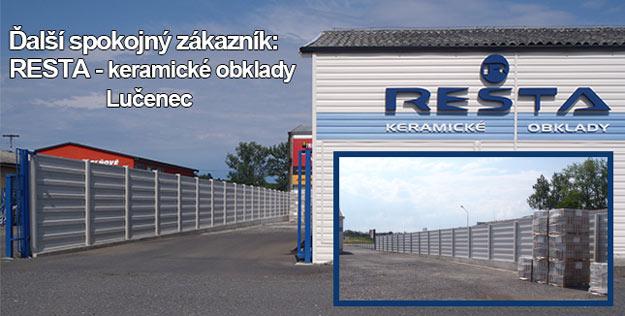 Ďalší spokojný zákazník: RESTA - Lučenec