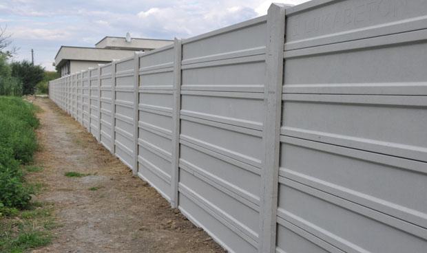 Betónové ploty špárovanie