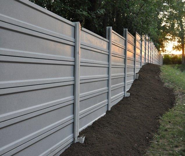 Betónový plot LUKABETON z certifikovaných výrobkov